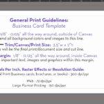 Vistaprint Business Card Size Template Psd Dimensions Throughout Business Card Size Template Psd