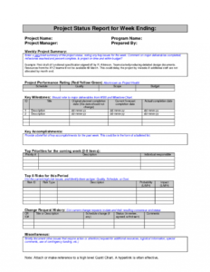 Vit Template For Ect Report Schedule Closure Ppt Status Free throughout Project Closure Report Template Ppt