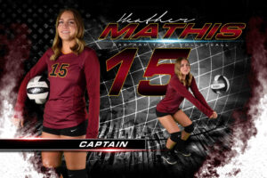 Volleyball Player Templates – Awesome Sport Banners in Sports Banner Templates