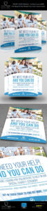Volunteer Charity Flyer Template Vol.2 | Flyer Design within Volunteer Brochure Template