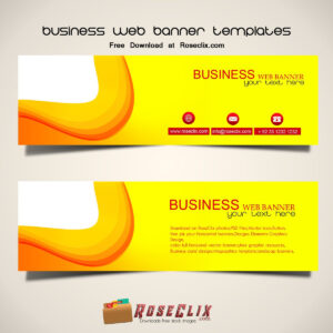 We Create Best Business Web Banner Design For You, Download throughout Free Website Banner Templates Download
