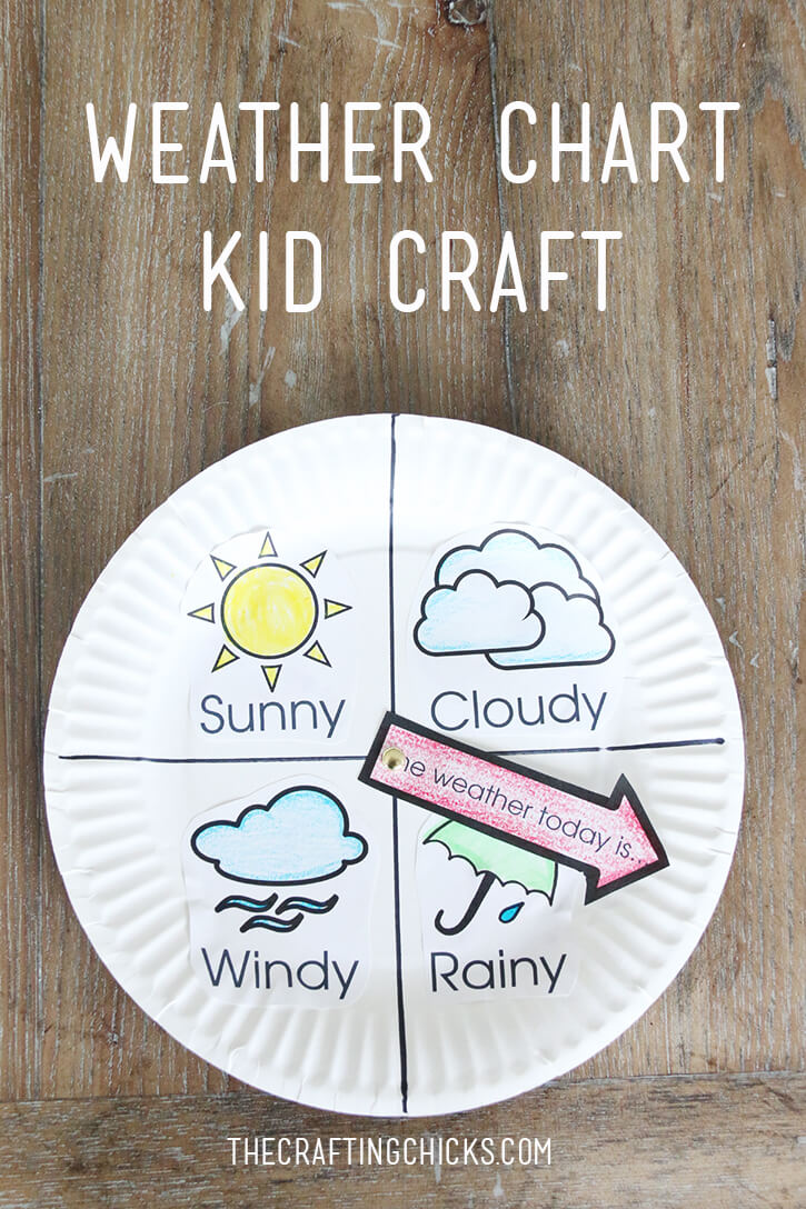 Weather Chart Kid Craft – The Crafting Chicks Regarding Kids Weather Report Template