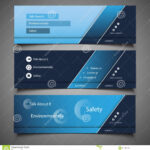 Web Design Elements – Header Designs Stock Vector Within Website Banner Templates Free Download