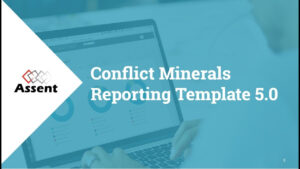 [Webinar] Conflict Minerals Reporting Template 5.0 throughout Conflict Minerals Reporting Template