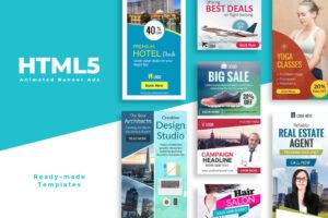 Website Banner Design Services | Animated Banner Ads For Website intended for Animated Banner Templates