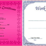 Wedding Anniversary Certificate Template Free With 25Th Gift Intended For Anniversary Certificate Template Free