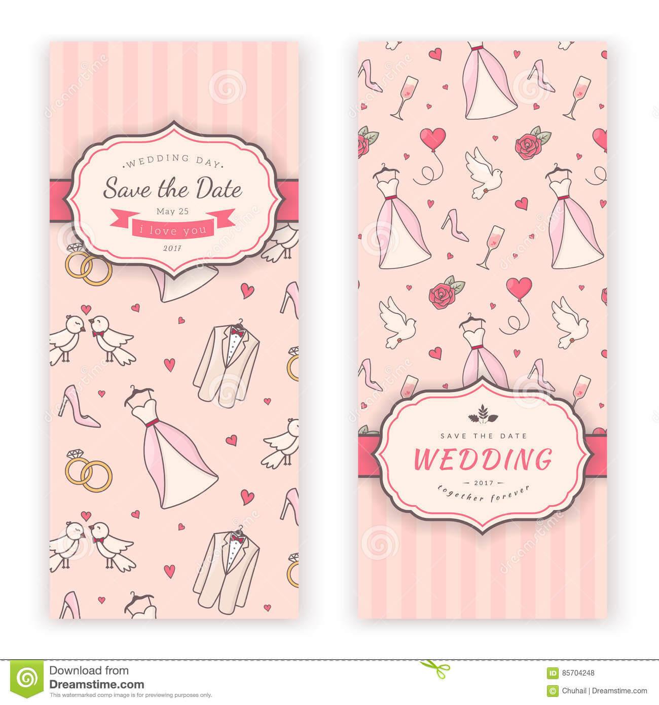 Wedding Banner Template. Stock Vector. Illustration Of Love Pertaining To Wedding Banner Design Templates