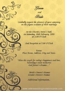 Wedding Invitation Cover Design Templates   Party Invitation for Indian Wedding Cards Design Templates