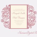 Wedding Invitation Templates Cricut • Invitation Template Ideas For Church Wedding Invitation Card Template