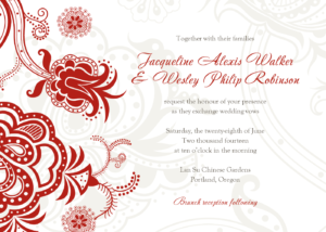 Wedding Invitation Templates Free Download Brochure Hindu within Free E Wedding Invitation Card Templates