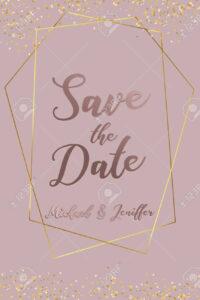 Wedding Invitation, Thank You Card, Save The Date Card. Wedding.. Within Save The Date Banner Template