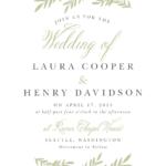 Wedding Invitation Wording Samples With Regard To Church Wedding Invitation Card Template