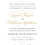 Wedding Invitations | Match Your Color & Style Free! Pertaining To Church Wedding Invitation Card Template