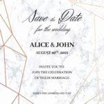 Wedding Invite Size Template | Wedding Invitations Template In Wedding Card Size Template