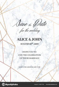 Wedding Invite Size Template | Wedding Invitations Template in Wedding Card Size Template