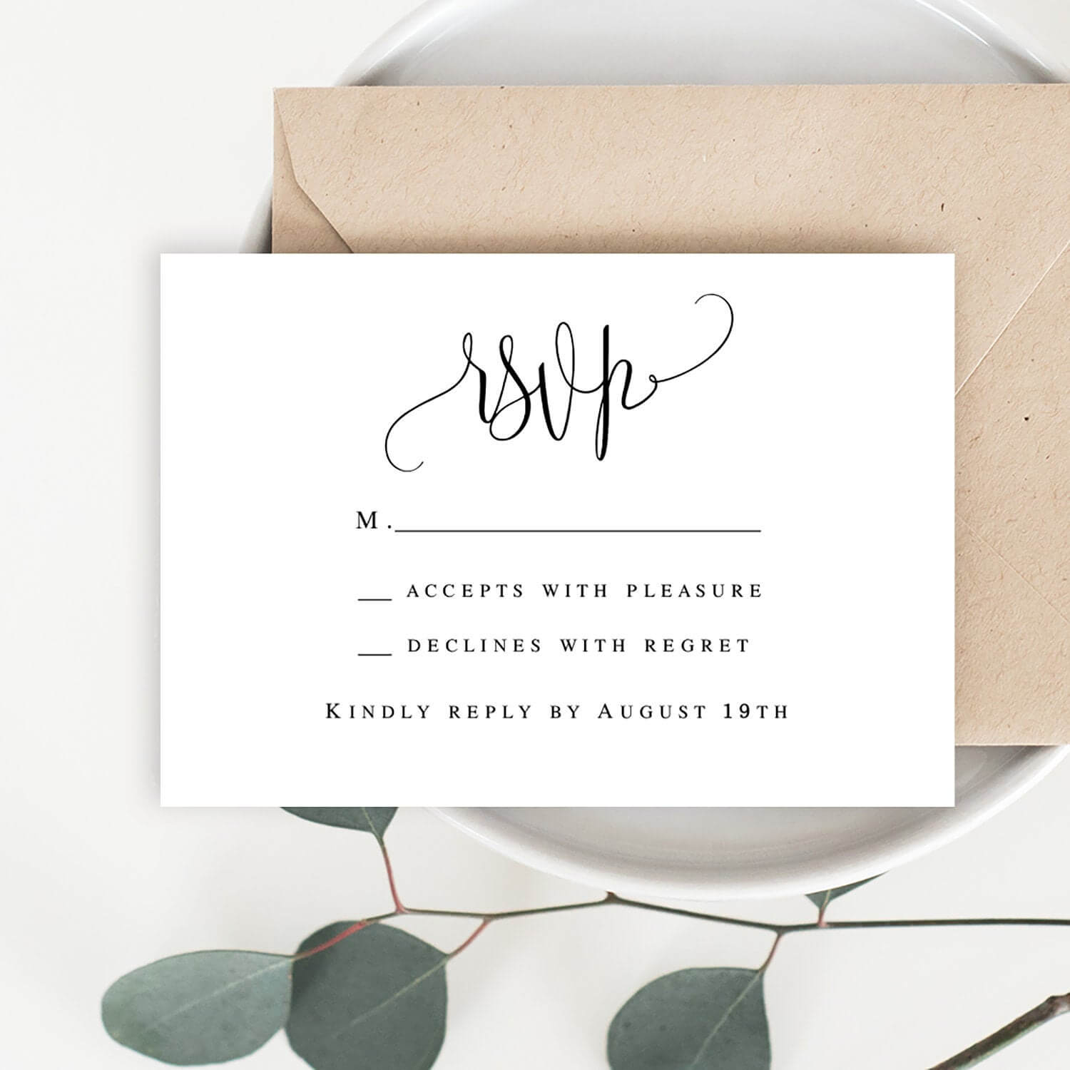Wedding Rsvp Card Wedding Rsvp Printable Template Enclosure Card Templates  Rsvp Template Wedding Acceptance Card Template #vm41 For Acceptance Card Template
