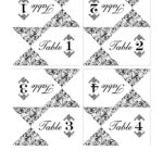 Wedding Table Number Template | Call Me Victorian With Regard To Table Number Cards Template