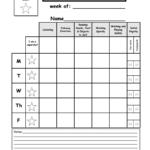 Weekly Behavior Report Template.pdf – Google Drive Throughout Preschool Weekly Report Template