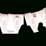 Welcome Home Baby Girl Banner   Do It Yourself Today For Christening Banner Template Free