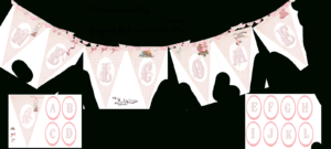 Welcome Home Baby-Girl Banner | Do It Yourself Today for Christening Banner Template Free