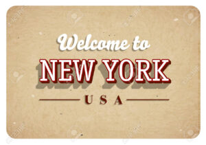 Welcome New York Banner Template Design intended for Welcome Banner Template