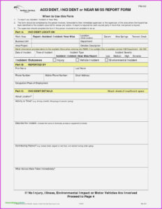 What Will Near Miss | Realty Executives Mi : Invoice And throughout Near Miss Incident Report Template