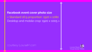 What's The Correct Facebook Event Image Size? 2019 Update intended for Event Banner Template