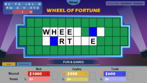 Wheel Of Fortune For Powerpoint – Gamestim in Wheel Of Fortune Powerpoint Template