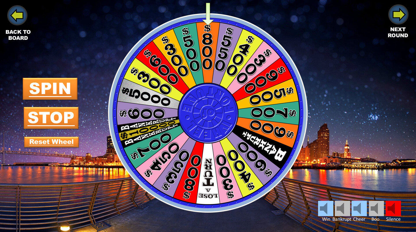 Wheel Of Fortune Powerpoint Game - Youth Downloadsyouth Throughout Wheel Of Fortune Powerpoint Game Show Templates