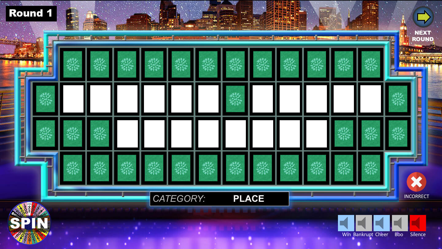 Wheel Of Fortune Powerpoint Game - Youth Downloadsyouth Within Wheel Of Fortune Powerpoint Game Show Templates