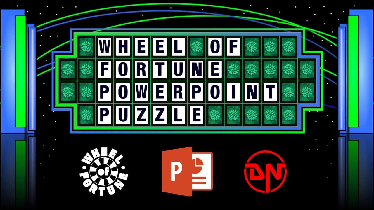Wheel Of Fortune – Powerpoint Puzzle Regarding Wheel Of Fortune Powerpoint Game Show Templates