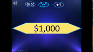 Who Want To Be A Millionaire Powerpoint Version 2016 (New) (Gerund And  Infinitives) In Who Wants To Be A Millionaire Powerpoint Template