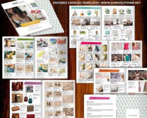 Wholesale Catalog Template-Id06 | Catalog | Product Catalog in Catalogue Word Template