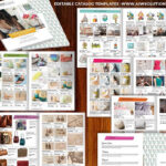 Wholesale Catalog Template Id06 | Catalog | Product Catalog Within Word Catalogue Template
