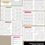 Wholesale Catalog Template Id06 | Higher Learning | Product In Catalogue Word Template