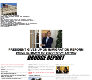 Why Drudge Report Remains The Best-Designed News Website Of with regard to Drudge Report Template