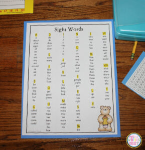 Why I Tore Down My Word Wall {& A Freebie} – Mrs. Winter's Bliss intended for Personal Word Wall Template