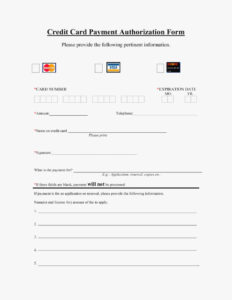 Why You Should Not Go To Credit Card On | Card Information throughout Credit Card On File Form Templates