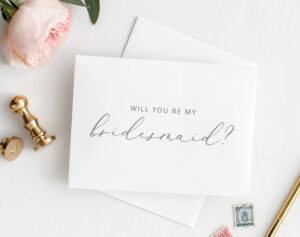 Will You Be My Bridesmaid Card, Printable Bridesmaid Card within Will You Be My Bridesmaid Card Template