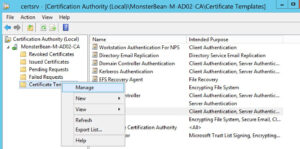 Windows 2012 R2 Nps With Eap-Tls Authentication For Os X regarding Workstation Authentication Certificate Template