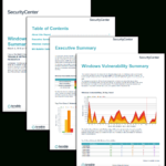 Windows Vulnerability Summary Report – Sc Report Template With Nessus Report Templates
