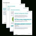 Wireless Configuration Report – Sc Report Template | Tenable® With Technical Support Report Template