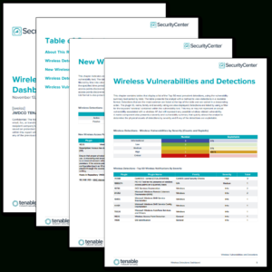 Wireless Detections Report – Sc Report Template | Tenable® in Nessus Report Templates