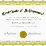 Word Award Template Printable Rental Agreement Lease Regarding Blank Certificate Of Achievement Template