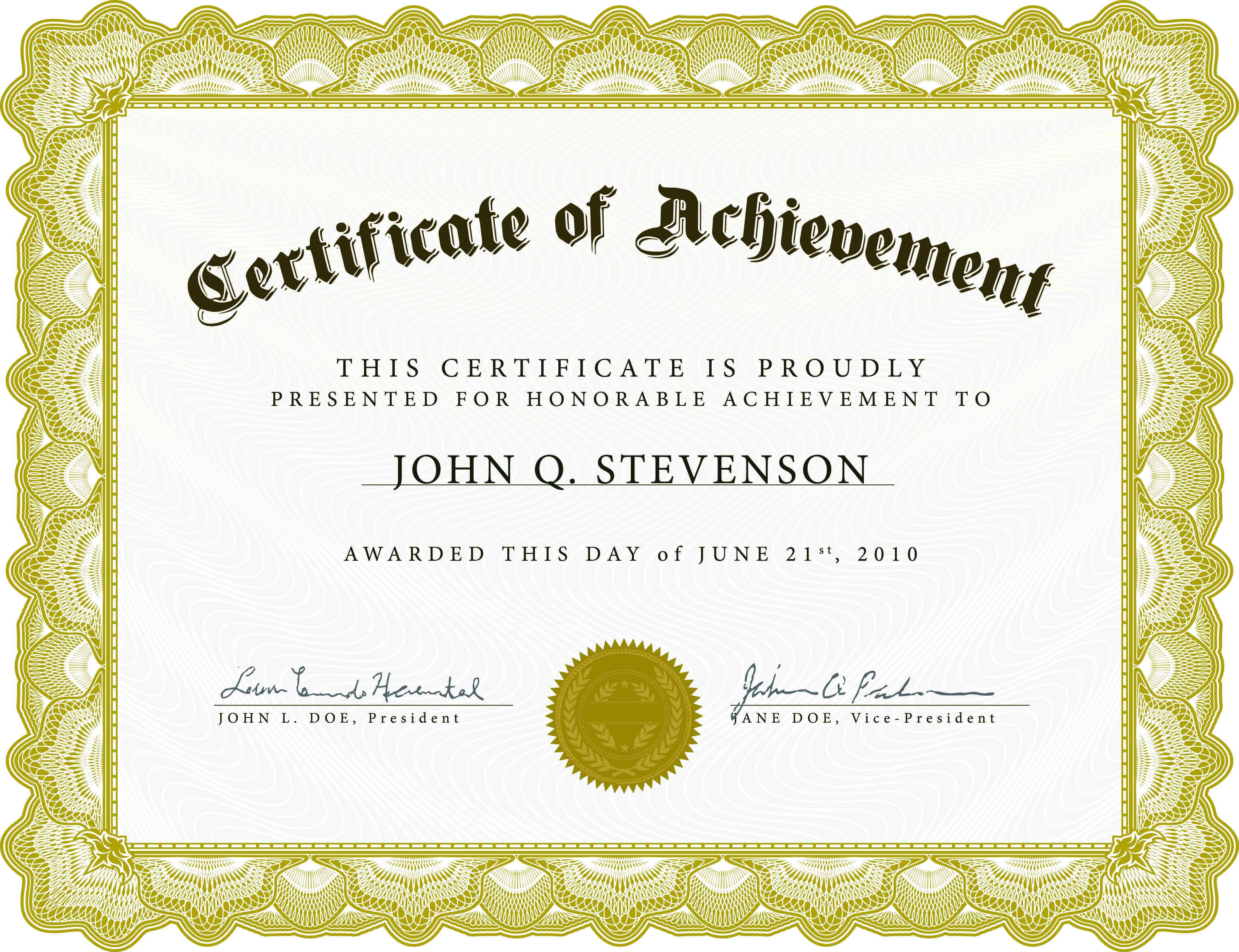 Word Award Template Printable Rental Agreement Lease Regarding Professional Award Certificate Template