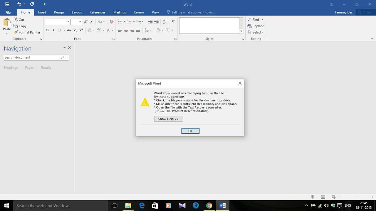 Word Cannot Open This Document Template Mendeley – Tenomy Regarding Word Cannot Open This Document Template
