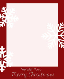 Word Greeting Card Template 650*804 – Word Birthday Card for Blank Christmas Card Templates Free