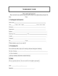 Word Registration Form Template – Hizir.kaptanband.co regarding Registration Form Template Word Free