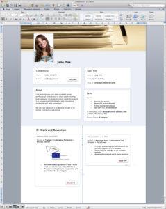 Word Resume Templates Microsoft Word Resume Template Resume regarding Resume Templates Word 2013