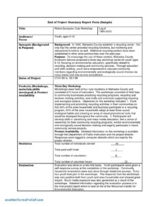 Workplace Investigation Report Example | Glendale Community for Hr Investigation Report Template